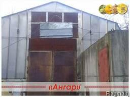 Ангар 12х30 шатровый бескаркасный демонтированный - фото 2
