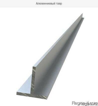 Алюминиевый тавр 25x25x2 мм АД31Т5 ГОСТ 8617-81