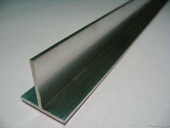 Алюминиевый тавр 50x25x2 мм АД31 ГОСТ 11930.3-79