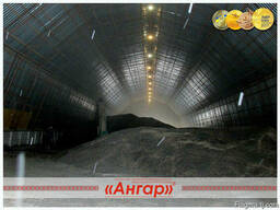 Ангары арочные, склады, зернохранилища ширина от 8м до 24м - photo 2