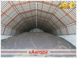 Ангары арочные, склады, зернохранилища ширина от 8м до 24м - фото 3