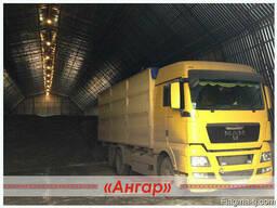 Ангары арочные, склады, зернохранилища ширина от 8м до 24м - photo 4
