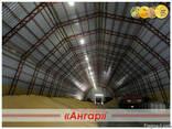 Ангары арочные, склады, зернохранилища ширина от 8м до 24м - фото 5