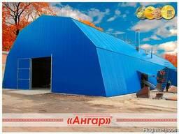 Ангары быстромонтируемые арочные, шатровые, прямостенные - photo 2