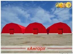 Ангары быстромонтируемые арочные, шатровые, прямостенные - photo 3