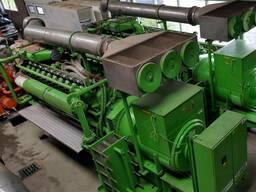 Б/У газовый двигатель Jenbacher J 320 GS B05, 1996
