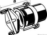 Безраструбная заглушка с прижимными скобами 200 мм FP-Preis - фото 1