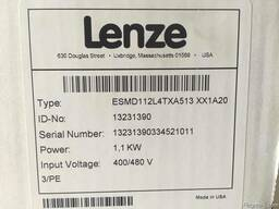 ESMD112L4TXA/1,1kW/3f преобразователи частоты LENZE