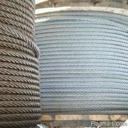 Канат стальной 37 мм 10 ГОСТ 16853-88
