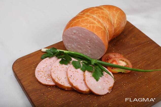 Колбасные изделия вареные, сосиски, сардельки