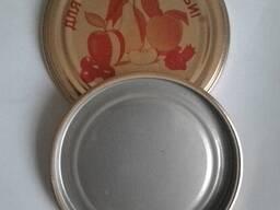 Крышка металлическая СКО 1-82 для закатки стеклянных банок