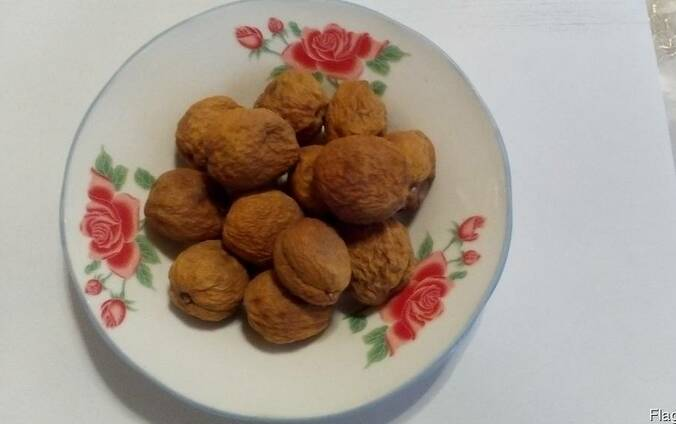Курага, сушеные абрикосы, миндаль, кишмиш, изюм