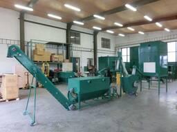 Линии гранулирования древесных отходов MGL 200