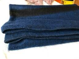 Одеяло Армейское шерстеное производство 52%-70%, цена с доставкой