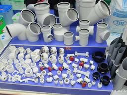 ПП, ПВХ, ПЭ Трубы, фитинги и другие пластмассовые изделия