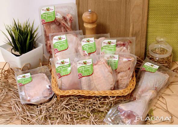 Продукты разделки и обвалки мяса индейки