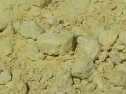 Производитель. Сера молотая и комовая минеральные удобрения