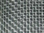 Рифленая нержавеющая сетка 10x10x2 мм 12Х18Н10Т ГОСТ 3826-82 - фото 1