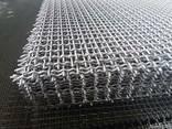 Рифленая нержавеющая сетка 5x5x1.2 мм 12Х18Н10Т ГОСТ 3826-82 - фото 1