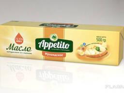 """Спред растительно-сливочный """"Appetito"""" с мдж 72, 5% 500гр"""