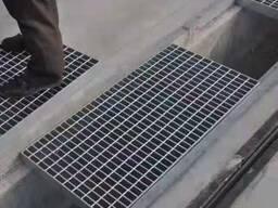 Стальная решетка из металлических полос лучшая цена как купить в Душанбе