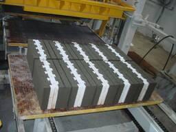 Вибропресс для производства тротуарной плитки U-1000 Швеция - фото 5