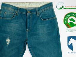 Высококачественные мужские джинсы оптом на экспорт