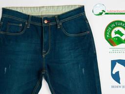 Высококачественные мужские джинсы оптом на экспорт - фото 5