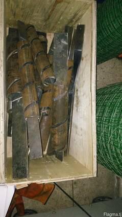 Запчасти для станка сетки рабицы ножи